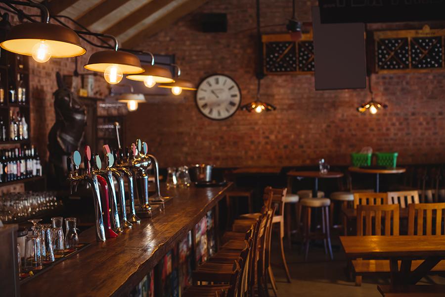 Impianto audio per bar e locali